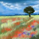 Fields of Poppies by Rasendyll
