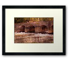 Abergavenny Bridge Framed Print