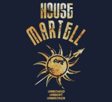 House Martell / Gama of Thrones by mlmatov