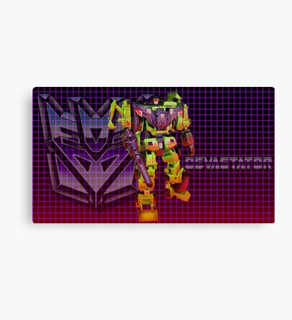 Transformers Devastator Canvas Print