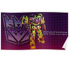 Transformers Devastator Poster
