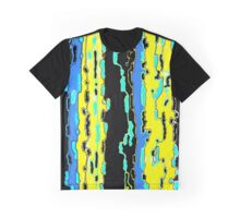 Bush Ants Abstract Digital Var 14 solid background Graphic T-Shirt
