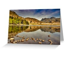 Reflections Blea Tarn Greeting Card