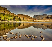 Reflections Blea Tarn Photographic Print
