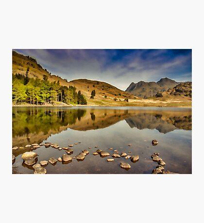 Reflections Blea Tarn Photographic Print
