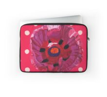 Poppy & Polka Dots Laptop Sleeve