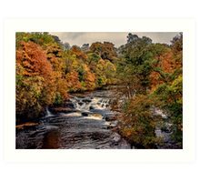 Aysgarth Falls Yorks Dales Art Print
