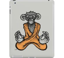 Zen Monkey 2 iPad Case/Skin