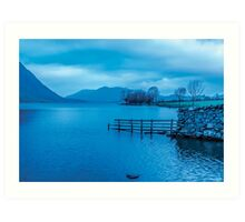 Early Morning at Buttermere Art Print