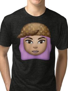 KYLlE - THE EMOJI Tri-blend T-Shirt