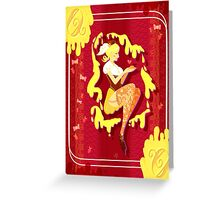 The Queen of Hearts : Mami Greeting Card
