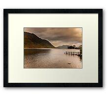 Morning at Buttermere Framed Print