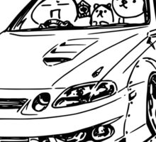 Crazy Car Art 0039 Sticker