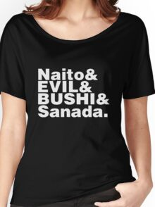 "Los Ingobernables de Japon ""Naito & EVIL & BUSHI & Sanada"" Women's Relaxed Fit T-Shirt"
