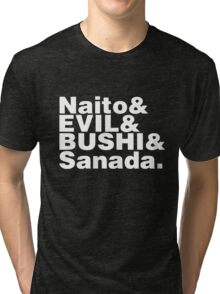 "Los Ingobernables de Japon ""Naito & EVIL & BUSHI & Sanada"" Tri-blend T-Shirt"
