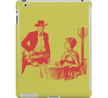 A Strong Land Growing - Red iPad Case/Skin