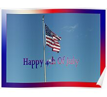 4th Of July Banner Poster