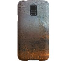 Condensation on Metal Texture Samsung Galaxy Case/Skin