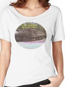 Crazy Train Women's Relaxed Fit T-Shirt