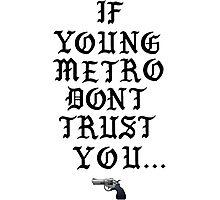 Metro Hook Photographic Print