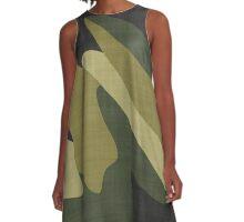Camouflage 10 A-Line Dress