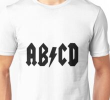AB/CD Black Unisex T-Shirt