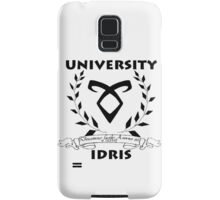 University Idris  Samsung Galaxy Case/Skin