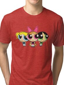 PowerPuff Tri-blend T-Shirt