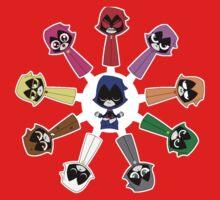 Raven's Emoticlones Baby Tee