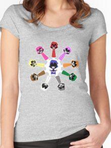 Raven's Emoticlones Women's Fitted Scoop T-Shirt