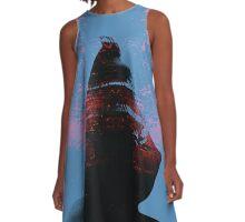Hooded Figure A-Line Dress