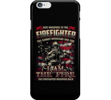 firefighter, fireman, fire chief iPhone Case/Skin