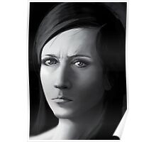 Adolf Hitler as a pretty young girl Poster