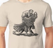 Alexis DeToqueville tangos with an American Eagle Unisex T-Shirt