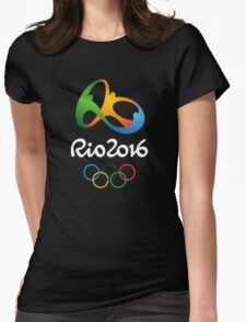Olympic Rio 2016  Womens Fitted T-Shirt