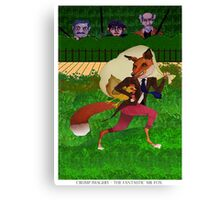 The Fantastic Mr Fox Canvas Print