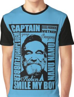 Robin williams tribute  Graphic T-Shirt