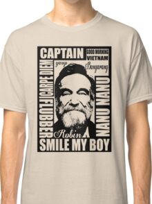 Robin williams tribute  Classic T-Shirt
