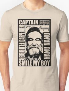 Robin williams tribute  Unisex T-Shirt