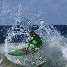 Power Surfing At Duranbah by Noel Elliot