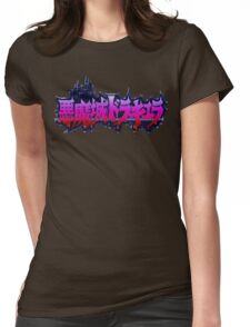 Akumajo Dracula / Castlevania IV (SNES) Title Screen  Womens Fitted T-Shirt