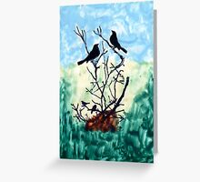 Spring Songs Greeting Card