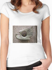 Peace Flame Hiroshima Women's Fitted Scoop T-Shirt