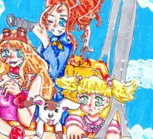 the adventurer sisters Sticker