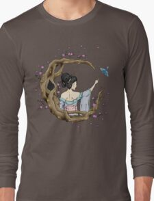 Among the Blossoms. Long Sleeve T-Shirt