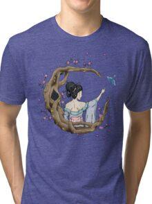 Among the Blossoms. Tri-blend T-Shirt