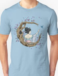 Among the Blossoms. Unisex T-Shirt