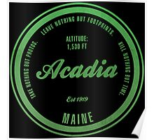 Acadia, Maine National Park Poster