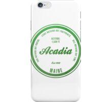 Acadia, Maine National Park iPhone Case/Skin