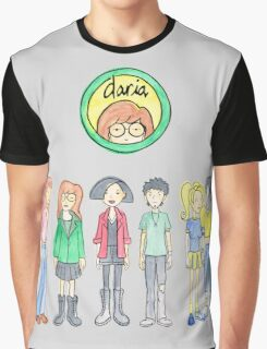 Daria and Friends Graphic T-Shirt